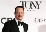 Tom Hanks with a moustache
